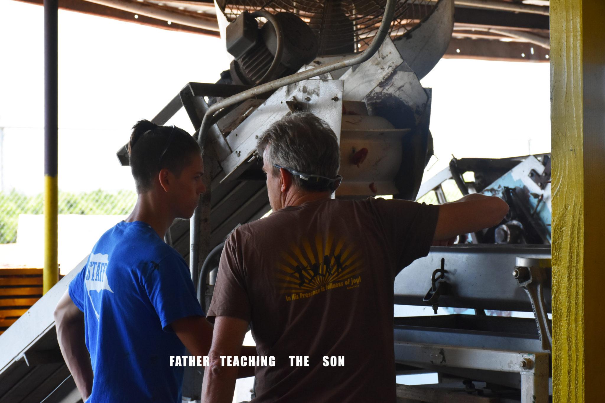 father son mentor